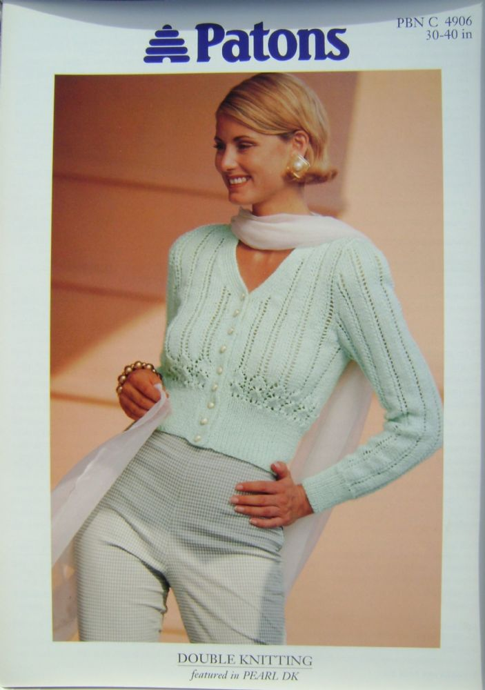 Patons Knitting Pattern 4906